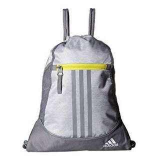 "Adidas Alliance II Sackpack Sling Backpack School College Sport Alliance - 14""l x 18.75""h"