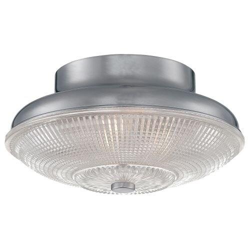 Millennium Lighting 5332 Prismatic 1 Light Flush Mount Ceiling Fixture