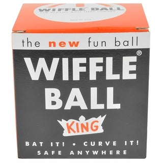 "Link to Wiffle Ball 12"" King Regulation Softball Size Curve Training Plastic Ball Similar Items in Team Sports Equipment"