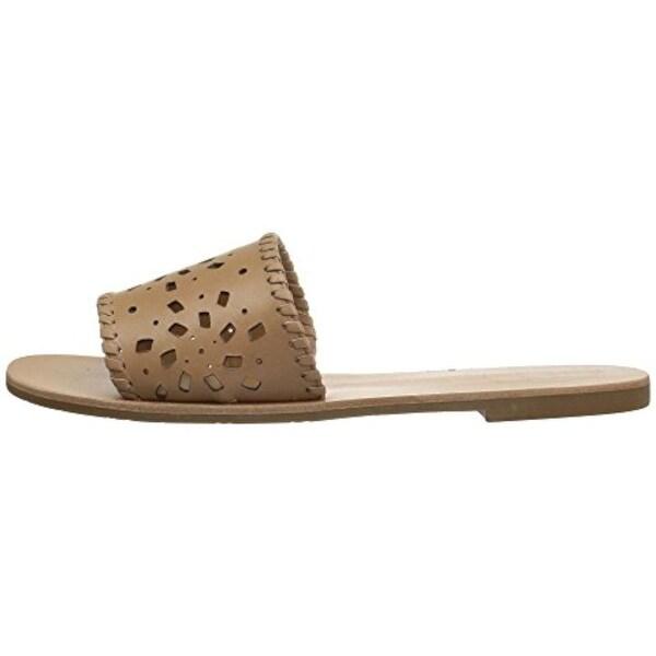3c51f2ede Shop Jack Rogers Womens Delilah Open Toe Casual Slide Sandals - Free ...