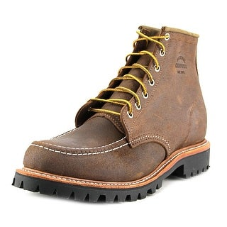 "Chippewa Odessa 6"" Service Boot Round Toe Leather Work Boot"