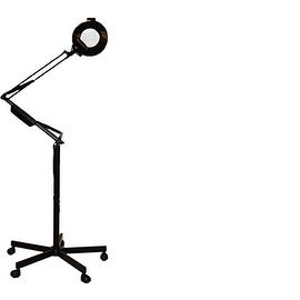 LCL Beauty Magnification Diopter Black Mag Lamp Light on Stand Salon Spa Doctor Tattoo Equipment