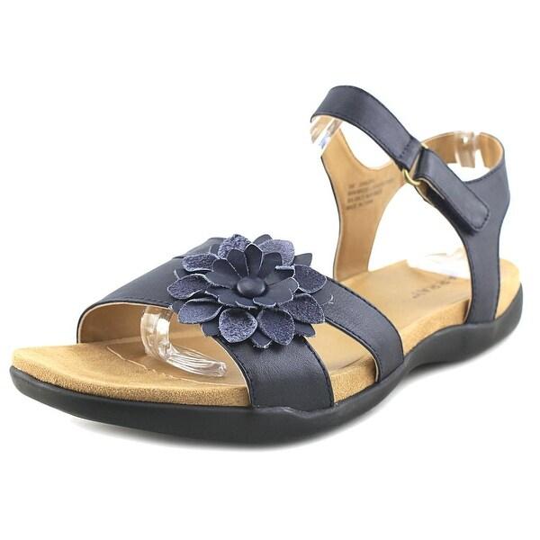Array Sangria Women W Open-Toe Leather Slingback Sandal