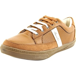 Kenneth Cole NY First Down Round Toe Synthetic Sneakers