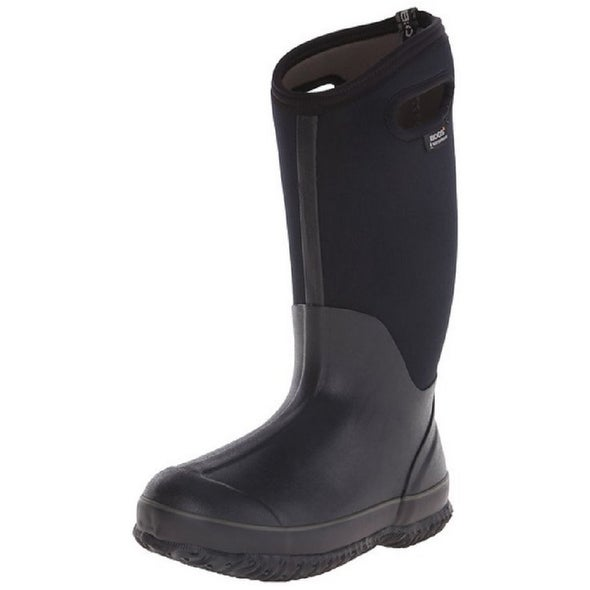 Bogs Outdoor Boots Women Waterproof Classic Rubber Farm WP Black