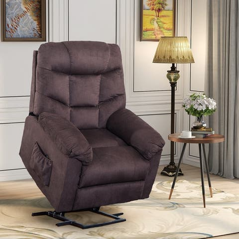 Power and Lift Recliner with Remote Control