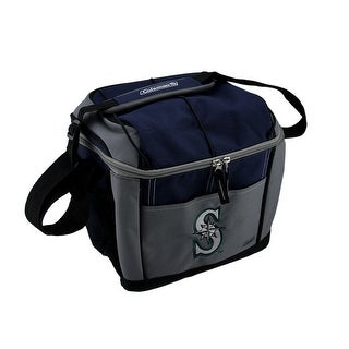 Coleman Seattle Mariners 24 Can Soft Sided Cooler Lunchbox MLB Navy 10 X 12 X 8 Inches