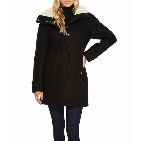 Marc York Andrew Marc Black Women's Size 4 Rachelle Coat