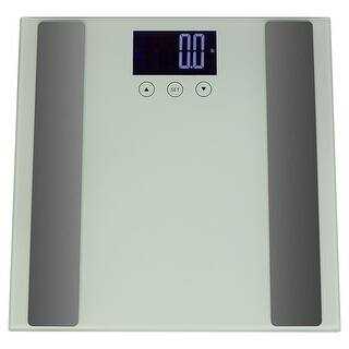Sunnydaze Digital Precision High-Accuracy Body Fat Bathroom Scale with Step-On Technology and LCD Back-Lit Screen|https://ak1.ostkcdn.com/images/products/is/images/direct/5f41c87f31c1e36f2c4b34d54611ff5cc4477732/Sunnydaze-Digital-Precision-High-Accuracy-Body-Fat-Bathroom-Scale-with-Step-On-Technology-and-LCD-Back-Lit-Screen.jpg?impolicy=medium