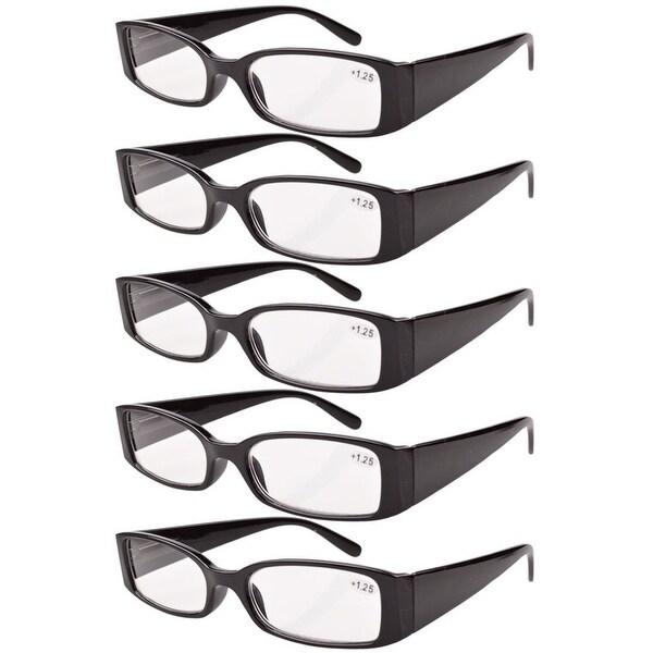 d2b7c2c99d7c Eyekepper Spring Hinge Reading Glasses Readers Women Black +4.0. Click to  Zoom
