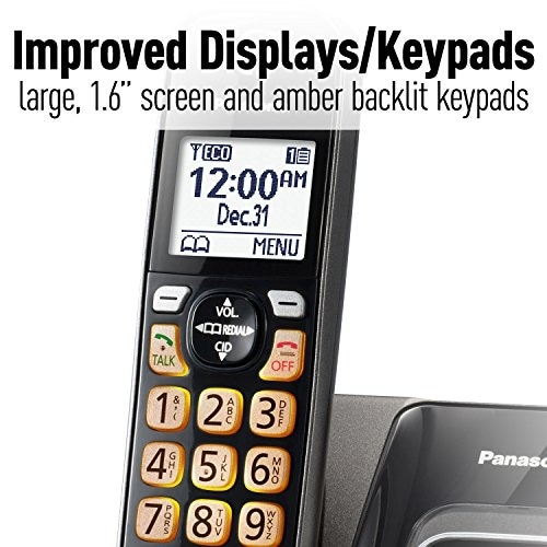 Panasonic Consumer Products - Kx-Tgd535m - Expandable Cordless Phone With Call Block And Answering Machine, 5 Handsets