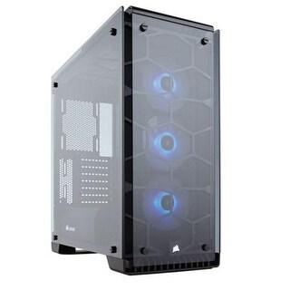 Corsair Cc-9011098-Ww Crystal 570X Rgb Tempered Glass Premium Atx Mid Tower Case