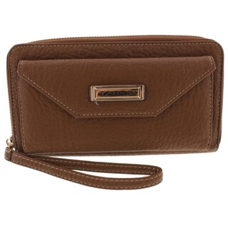 Tahari Womens Cosmo Cash Wristlet Wallet Faux Leather Organizational - o/s