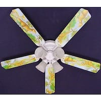Dinosaurs Print Blades 52in Ceiling Fan Light Kit - Multi
