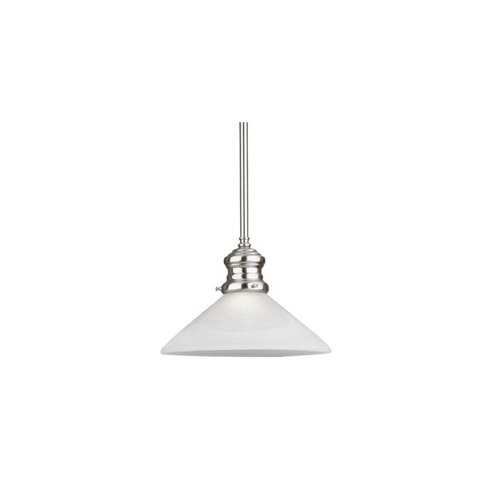 Westinghouse 6923100 Winchester 1 Light Indoor Mini Pendant With Brushed Nickel On Sale Overstock 13805639