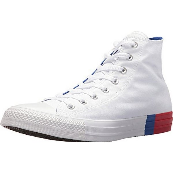 Converse Unisex Chuck Taylor All Star, White/Red/Blue
