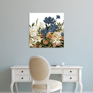 Easy Art Prints Emma Scarvey's 'Wildflower Garden I' Premium Canvas Art