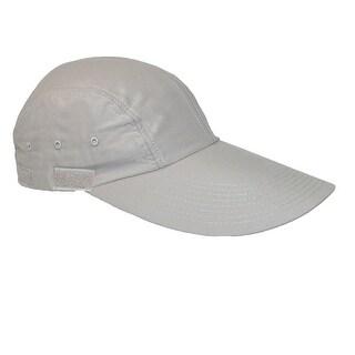 DPC Outdoor Design Microfiber Long Brim Baseball Cap with Sunshield - Khaki - One Size
