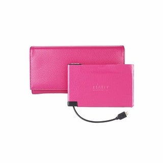 WOMEN'S POWER WALLET 3000 W/RFID PROTECTION - Pink