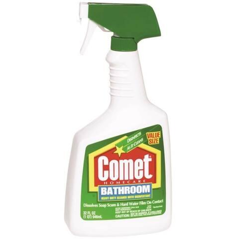 Comet 16529608601 Kitchen & Bathroom Cleaner, 32 Oz
