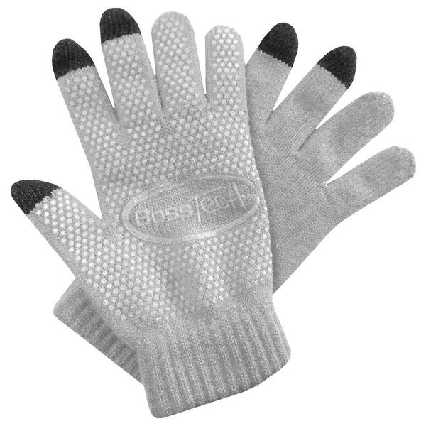 Boss Tech Knit Non-Skid Touchscreen Gloves for Cell Phones, Smart Phones, Tablet