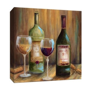 """PTM Images 9-147755  PTM Canvas Collection 12"""" x 12"""" - """"Elegant Whites"""" Giclee Wine Art Print on Canvas"""