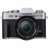 Fujifilm X-T20 Mirrorless Digital Camera with 16-50mm Lens (Silver)