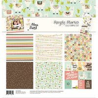 """Simple Stories Simple Sets Collection Kit 12""""X12""""-Mama Llama"""