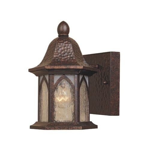 "Designers Fountain 20601-BAC 1 Light 5.5"" Cast Aluminum Wall Lantern from the Berkshire Collection"