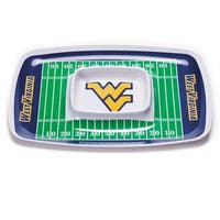 Bsi Products Inc West Virginia Mountaineers Chip And Dip Tray Chip And Dip Tray