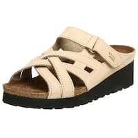 Spring Step Womens Sabra-S Leather Open Toe Casual Platform Sandals