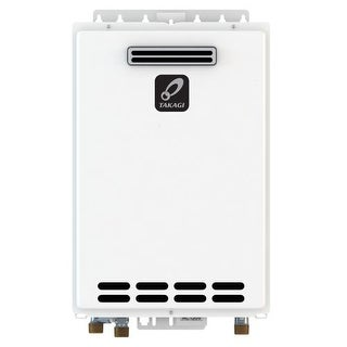 Takagi T-D2-OS-NG 10.0 GPM Commercial Natural Gas Outdoor Tankless Water Heater from the Tankless Collection