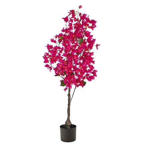 4' Bougainvillea Artificial Tree