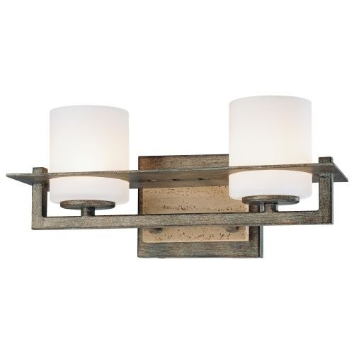 Minka Lavery 6462 2 Light 12.75 Width Bathroom Vanity Light from the Compositions Collection