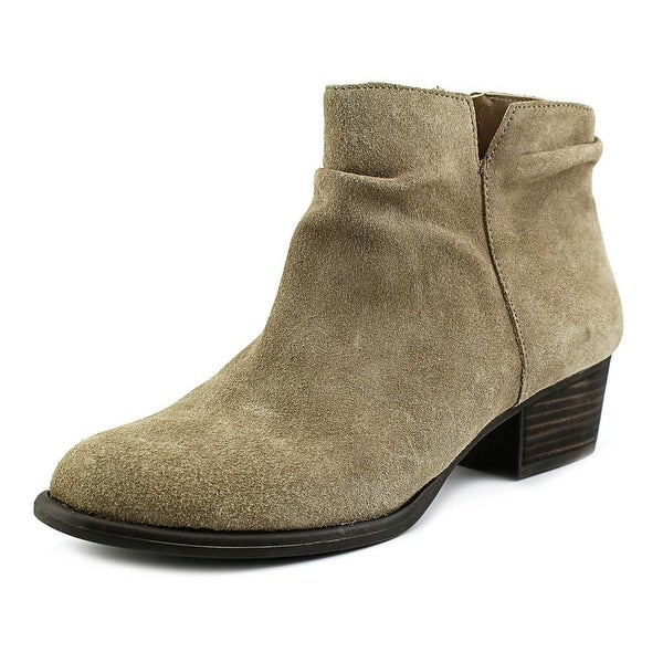 Jessica Simpson Dalisa Women Pointed Toe Suede Tan Ankle Boot