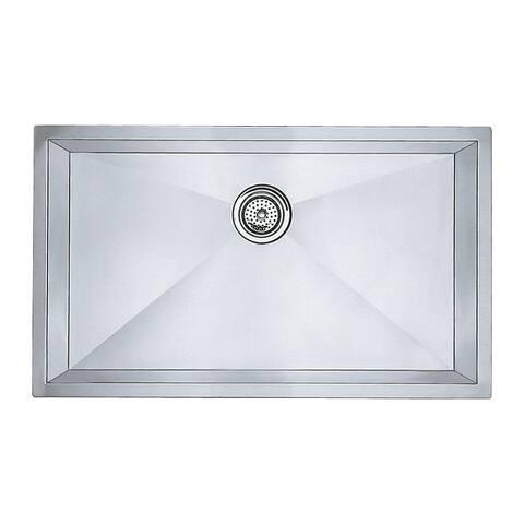 Blanco Precision 19-In X 32-In Single-Basin Undermount Kitchen Sink