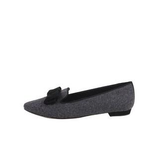 VANELi Womens Gesine Pointed Toe Slide Flats