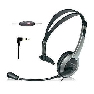 Panasonic KX-TCA430 Over The Head Headset w/ Noise-Cancelling Feat. for 4000/6000/7000/9000 Series
