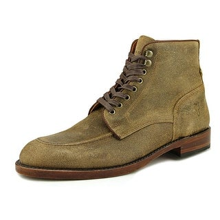 Frye Walter Lace-Up Men  Round Toe Leather  Ankle Boot