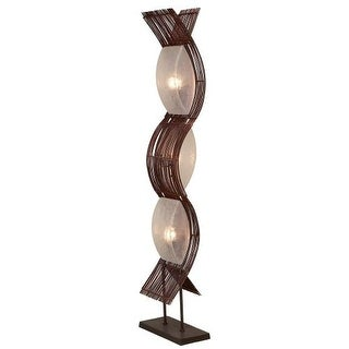 Aspire Home Accents 58829 Liam Abstract Floor Lamp
