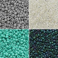 Exclusive Beadaholique Toho Seed Bead Palette, Round 11/0, 32 Grams, Pacific Waterfall