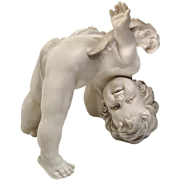 Design Toscano Turvey, The Tumbling Cherub Statue