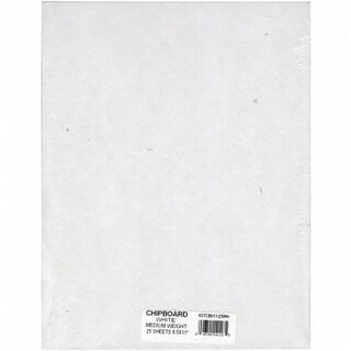 Medium Weight Chipboard Sheets 8.5 X11