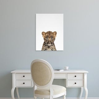 Easy Art Prints Tai Prints's 'Leopard' Premium Canvas Art