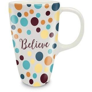 AngelStar 16854X Believe Coffee Latte Tea Mug, Believe