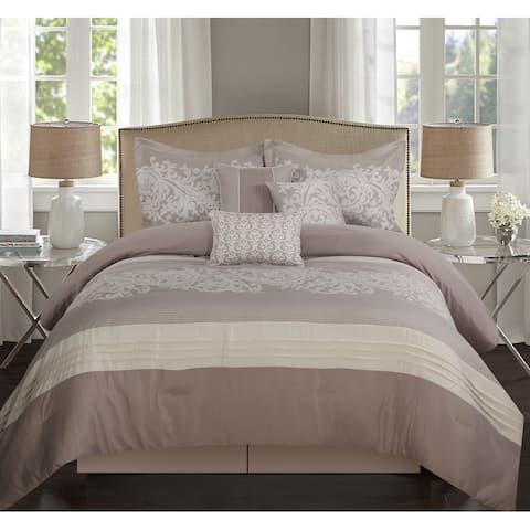 Grand Avenue Salem 7-Piece Comforter Set