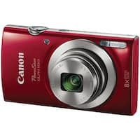 Canon 1096C001 20.0-Megapixel Powershot(R) Elph(R) 180 Hs Digital Camera (Red)