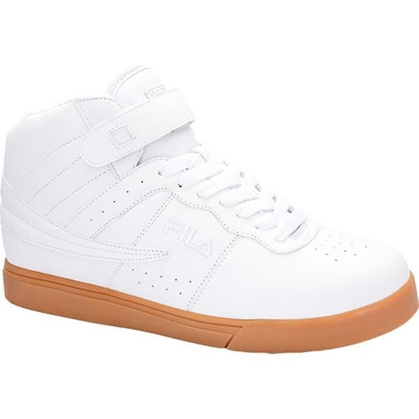 ad06b9163d9c Shop Fila Men s Vulc 13 White Metallic Silver Gum - On Sale - Free Shipping  On Orders Over  45 - Overstock - 10980361