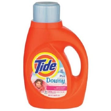 Tide 87453 Downy Liquid Laundry Soap, 46 Oz.