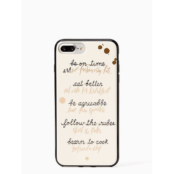 Kate Spade New York Resolutions Comold Case for iPhone 8 Plus & iPhone 7 Plus